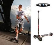 Трехколесный самокат для взрослых и юниоров Micro Kickboard Monster (д