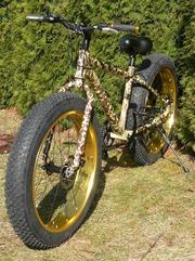 Фэтбайк – велосипед на широких колесах