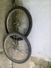 Колеса складной велосипед